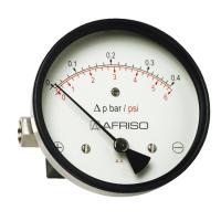 德国菲索磁体活塞型差压压力表(高过载保护)- 带两个显示盘