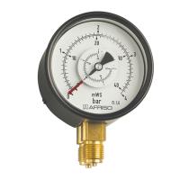 德国菲索弹簧管型差压压力表
